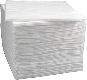 immagine di Asciugamani monouso e bellezza Enki di lusso (bianco) 56 gsm, 40 cm x 80 cm (1 x confezione da 50 asciugamani)
