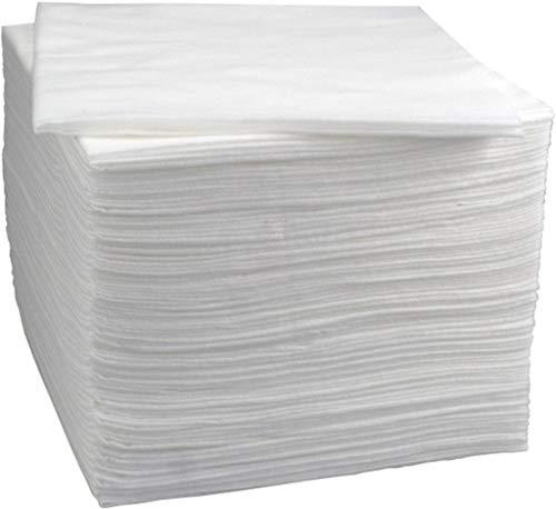 Asciugamani monouso e bellezza Enki di lusso (bianco) 56 gsm, 40 cm x 80 cm (1 x confezione da 50 asciugamani)