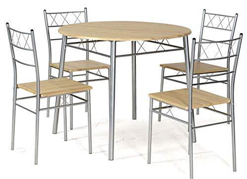 Coreme Pack Table + 4 chaises Lota