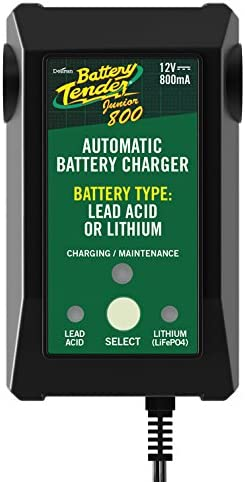 Battery Tender Jr. Selectable Lithium Acid Lead New Excellence popularity Charger
