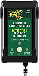 Battery Tender Jr. Selectable Lead Acid/Lithium Charger