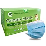 50 Pcs Medical Mask | Disposable Mask With Filter 4 Layer - Blue Fit For Men And Women