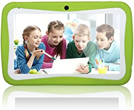 7inch Wopad Google Android 7.1 Quad Core MultiTouch Touch Screen 8GB Kids Tablet Green (Certified Refurbished)