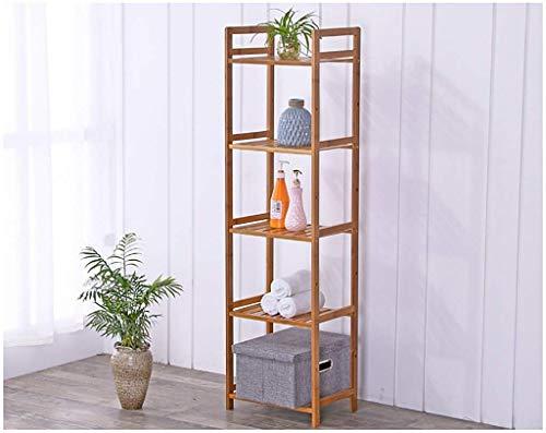 YLCJ Bamboo opslagrek Eenvoudige slaapkamer Rack Opslagrek Eenvoudige woonkamer Effen houten scheidingswand