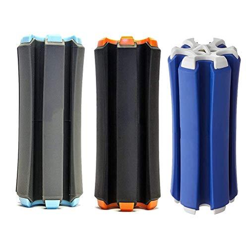 Sarari Soporte para 6 barras de golf, portabicicletas portátil, soporte fijo, organizador...