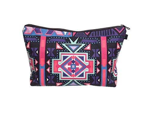 Beauty Case, borsa da viaggio, borsetta da toilette sacco sacchetto bagno per cosmetici trucco make up motivi diversi, Kosmetiktasche KT-002-050:KT-008 modello multicolore