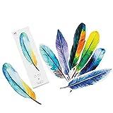 Hmg Creativo Colorido del Clip 30 PCS Lindo Papel de la Hoja de papelería Marca Libro