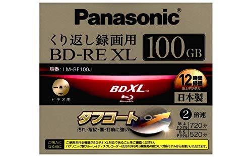 Panasonic LM-BE100J Rohling Transparent/Weiß