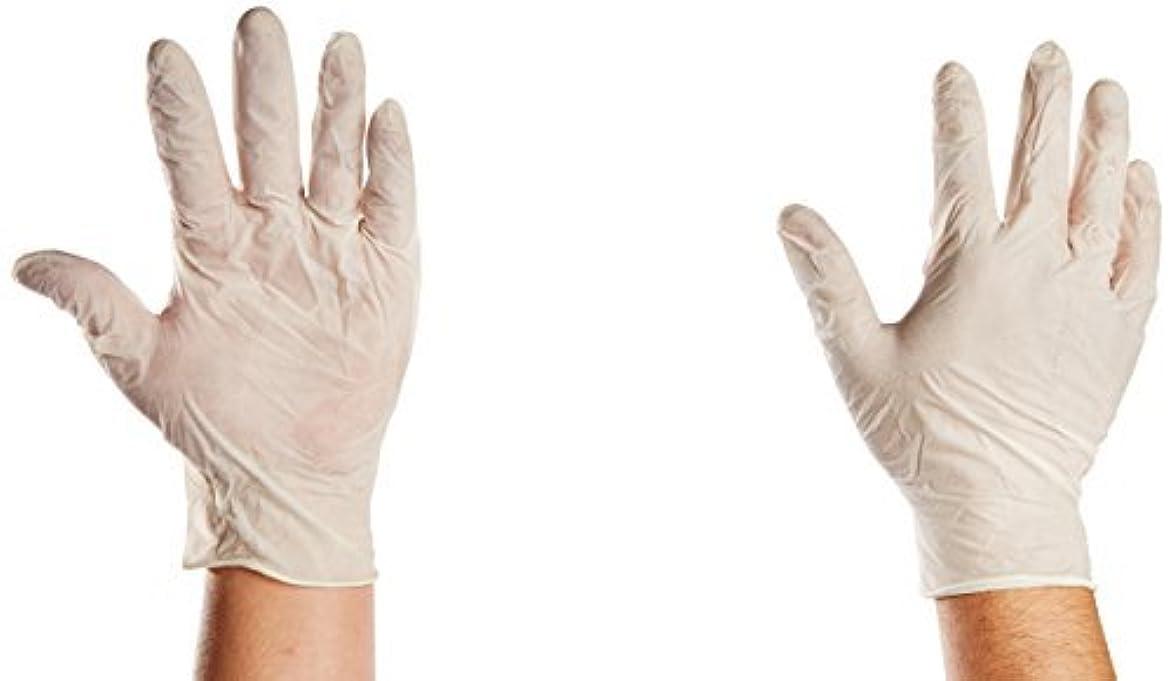 上院議員キャリッジ適応Boss Gloves 656783 1Ul0004X 100-Count Extra Large Disposable Latex Gloves [並行輸入品]