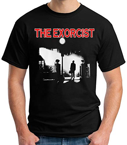 35mm - Camiseta Hombre The Exorcist - El Exorcista - Terror - Pelicula De Culto - Negro - Talla XXL
