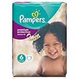 Couches Pampers - Taille 6 active fit - 64 couches bébé