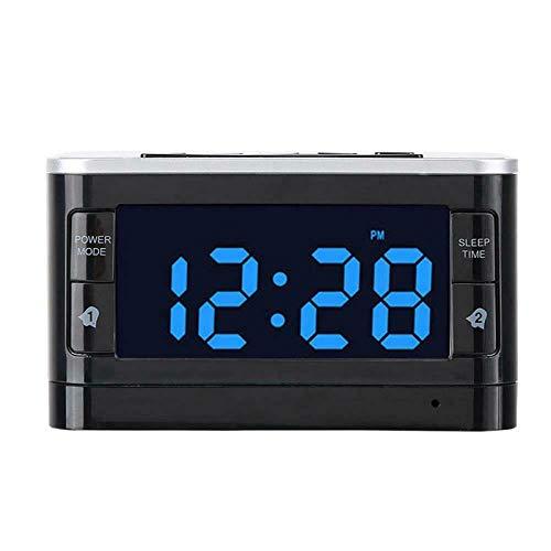 FPRW Bluetooth-luidspreker snooze alarm Clock, ondersteunt FM-radio, met draadloze oplader, USB-poort, afstandsbediening voor iPhone Samsung, EU-stekker