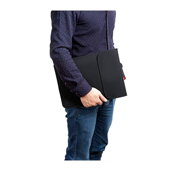 HYZUO 13 Inch Laptop Sleeve Case Compatible with 2020 2019 2018 MacBook Air 13 A2179 A1932/ MacBook Pro 13 2016-2019/ iPad Pro 12.9 2018 2020/ Dell XPS 13/ Surface Pro X 7 6 5 4 3 with Small Bag 7 <p>Compatible with 13.5 inch Surface Laptop 3/ 2 (2018)/ 2017, 13.3 inch Old MacBook Air (A1369 A1466)/Old MacBook Pro Retina 13 2012-2015 (A1425 A1502), 12.9 Old iPad Pro 2015 2017 (A1584 A1652 A1670 A1671 A1821) , 13.3 inch HP Spectre X360 13, 13.3 in Lenovo Yoga 720, 13.9 in Lenovo Yoga 910/920 Made of faux suede leather and soft lining, water-resistance, shockproof and anti-scratch The practical and stylish pouch is for storing the charger, mouse, earphone or other peripherals Invisible magnet closure, allows easy access your laptop while magnets will not damage your laptop. Slim design allows this sleeve to be carried solo or fit in your other bag, lightweight yet durable Warranty: HYZUO 12-Month Worry Free Warranty on every sleeve bag</p>