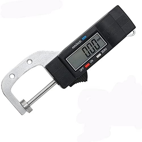 YWSZJ Medidor de Espesor Digital 0-25 4 mm Steinter Gauge LCD Calibradores Digitales Joyas Espesor Herramientas de medición de Cuero de la Perla de medición