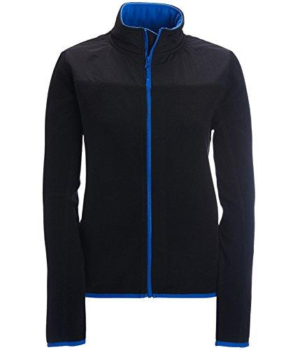 Aeropostale Womens Solid Full-Zip Fleece Jacket 001 M