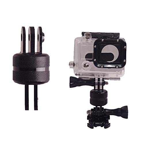 iKNOWTECH 360 Graden Rotatie CNC Draaibare Pivot Extension Arm Statief Mount voor GoPro, Xiaoyi en andere Sport Camera's