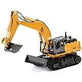 DAXINYANG Ingegneria Lega a Distanza del Veicolo di Controllo Escavatore Giocattolo per Bambini Escavatore Vestito Auto Ragazzo