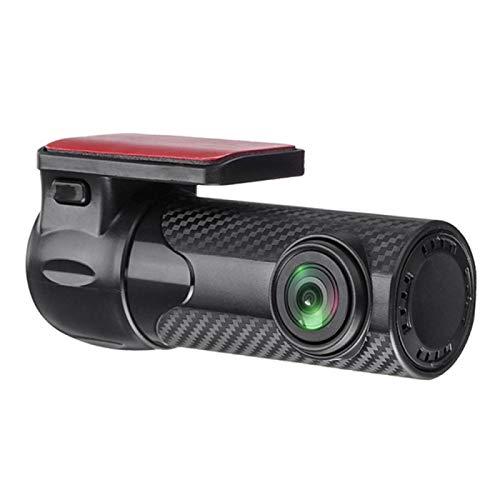 Dash CAM para Automóviles 1080P Mini 170 Grados Gran Angular G-Sensor Car Dvr WiFi Cámara De Tablero Visión Nocturna con Micrófono Grabador De Video Oculto