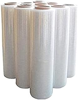 Agfabric 2.4Mil Plastic Covering Clear Polyethylene Greenhouse Film UV Resistant for Grow Tunnel and Garden Hoop, Plant Cover&Frost Blanket for Season Extension,Keep Warm and Frost Protection 6.5x50ft