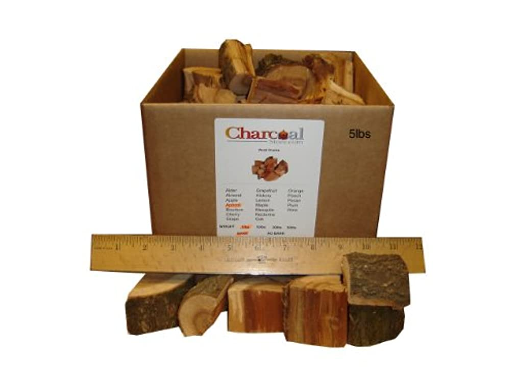 CharcoalStore Apricot Wood Smoking Chunks (5 pounds)