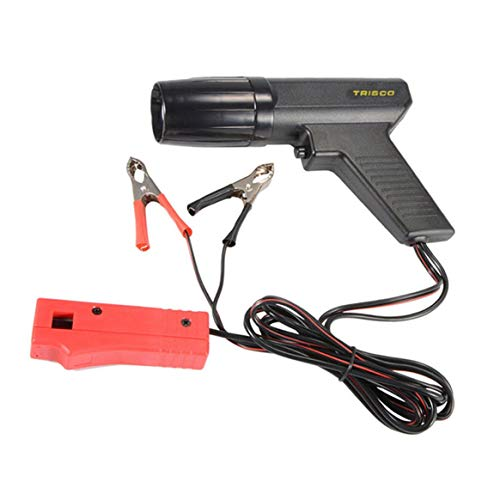 Hanmarigold 12V Professional Auto Motorrad Motor Timing Light Zündung Fernlicht Timing Strobe Light Induktiver Timing Lamp Detektor