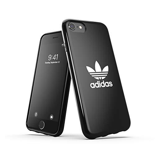 adidas Custodia progettata per iPhone 6 / 6S / 7/8 / iPhone SE2, custodia testata, bordi rialzati antiurto originale, colore: nero