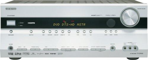 Onkyo TX SR 606 7.1 AV-Receiver (HDMI, TrueHD, DTS-HD) Silber