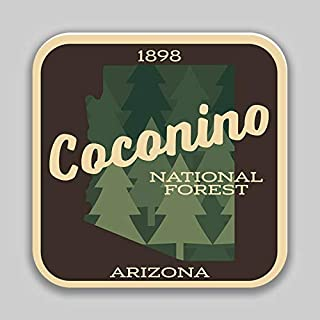 JB Print Magnet Coconino National Forest Explore Wanderlust Camping Hiking Vinyl Decal Sticker Car Waterproof Car Decal Magnetic Bumper Sticker 5