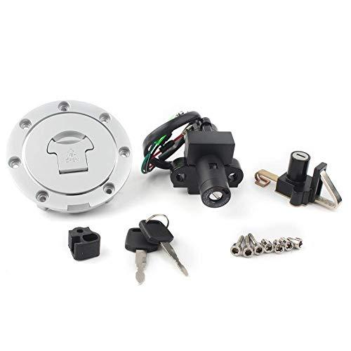 HEWE Tapa del interruptor de encendido de la motocicleta para la cubierta del tanque, juego de bloqueo del asiento, adecuado para NSR 125 NSR125 1993  2000 2001 2002 2003 2004 Auto Decor