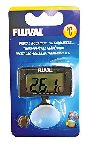Fluval 11195 - Termometro Digital, negro