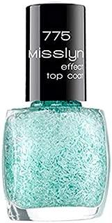 Misslyn Effect Top Coat No. 775 Merci - Turquoise Blue
