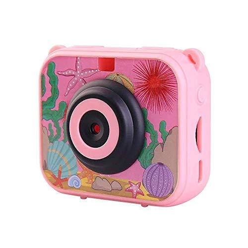 MYXMY Infantil Marco videocámara de la cámara 1080P con la Foto de Funciones, Impermeable y Gota a Prueba de cámara en Miniatura de Alta definición de los niños Adecuado for niños y niñas