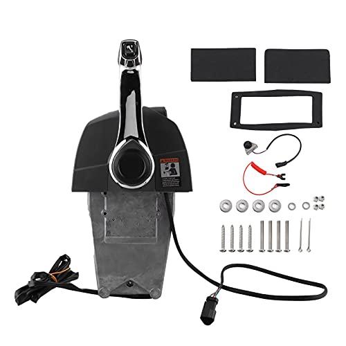 Control remoto fuera de borda, Fydun OE: 5006182 Montaje lateral de palanca única sin llave Adecuado para motor Evinrude Johnson 1996-nuevo