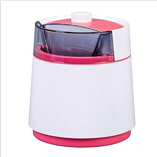 ALY Eismaschine Eine Profi- Speiseeismaschine die EIN Leben lang, für Gefrorene Früchte fettfrei-kalorienarm,Rosa