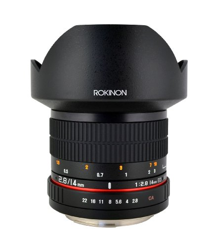 Rokinon FE14M-S 14mm F2.8 Ultra Wide Fixed Lens