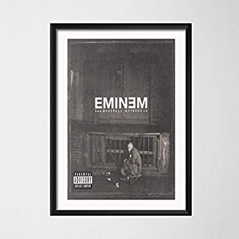 The Marshall Mathers LP Eminem Canvas Poster Print