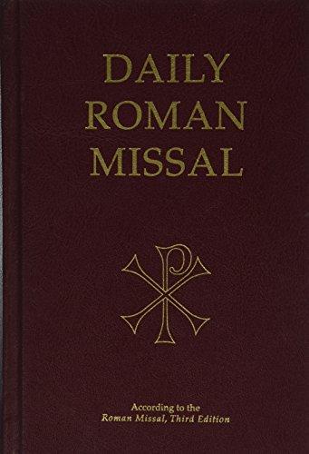 Daily Roman Missal, 7. Auflage, Burgunderrot