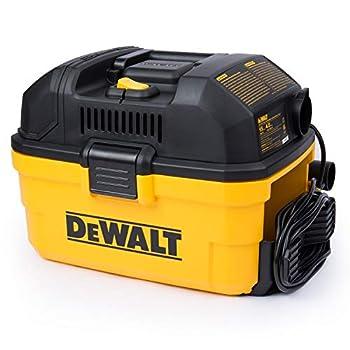 DEWALT DXV04T Portable 4 gallon Wet/Dry Vaccum Yellow