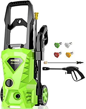 Homdox 2500-PSI Electric Pressure Washer With 4 Nozzles