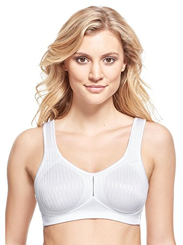 Susa Damen Entlastungs Bügel Cremona Comfort Plus Bügelloser BH, Weiß (Weiß 003), 100G