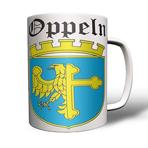 Oppeln Polen Schlesien Stadt Uopole Uppeln Opolí Oberschlesien Tasse #16425