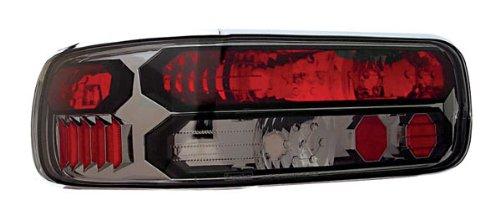 IPCW CWT-CE316CS Crystal Eyes Platinum Smoke Clear Eyes Tail Lamp with Black Trim