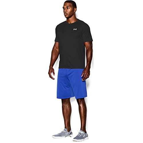 Under Armour 1228539_001 Tech T-Shirt manches courtes Homme Noir FR : L (Taille Fabricant : LG)