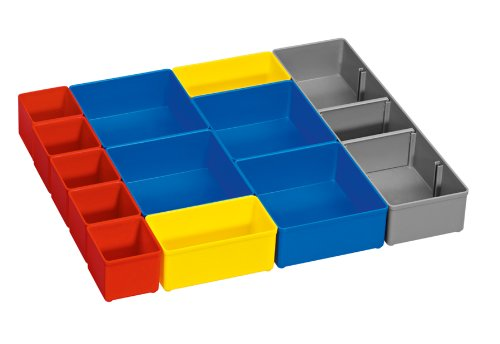 Bosch Org53-12 Organizer Set für i-Boxx53, Teil Click and Go Mobiltransportsystem, 12-teilig
