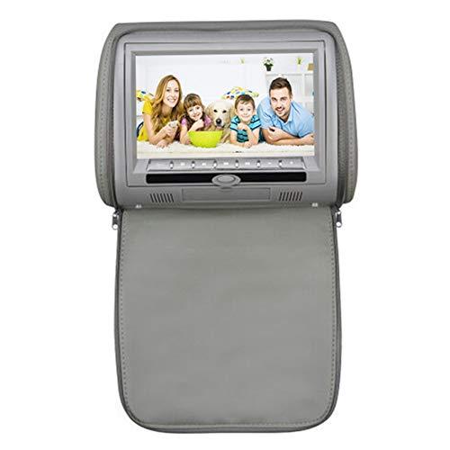 CAPTIANKN Car DVD/CD-speler, autohoofdsteun standaard, 9 inch HD LCD-monitor, Smart Audio Video Entertainment System, Universal