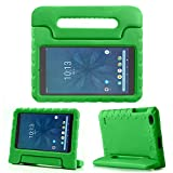 """REGOKI Onn 8"""" Case, Lightweight Handle Stand Kids Cover Compatible with Walmart Onn 8inch Android Tablet (Model ONA19TB002) 2019 Released (Green)"""