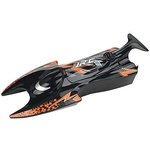 Waroomss Barco de Control Remoto Lancha de Control Remoto S6 Vida Duradera Modelo de Barco de Agua Barco de Control Remoto eléctrico de Alta Velocidad