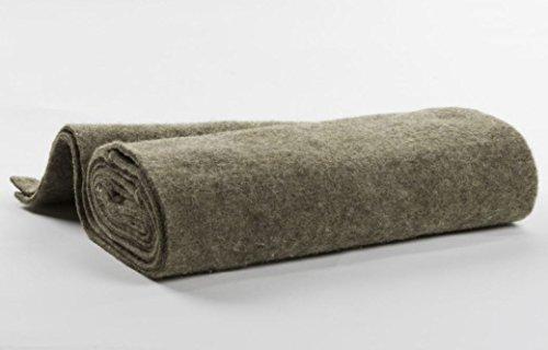 3 m 1 x 1 cm Gardenwool GW-WKOG3010 Wollschnur 300x1x30 cm grau