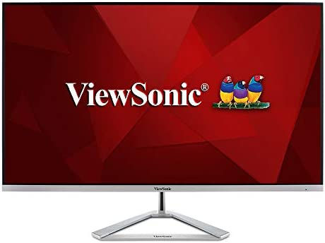 ViewSonic VX3276 4K MHD 32 Inch Frameless 4K UHD Monitor with HDR10 HDMI and DisplayPort for product image