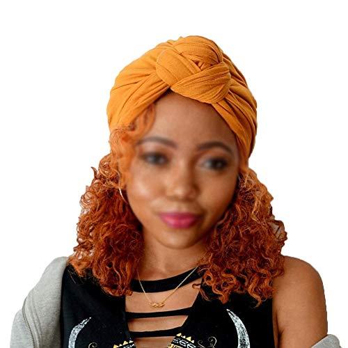 Mujer Sombreros Elasticas Gorras Color Sólido Cálido Elegante Turbantes